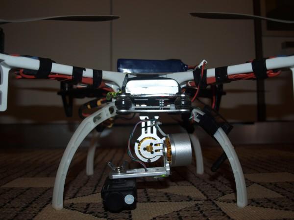 Goodluck buy gimbal - Mobius - DJI F450